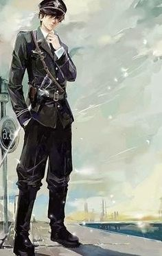 anime male military characters - Google Search