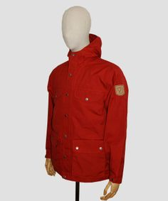 Fjallraven Greenland Jacket Deep Red