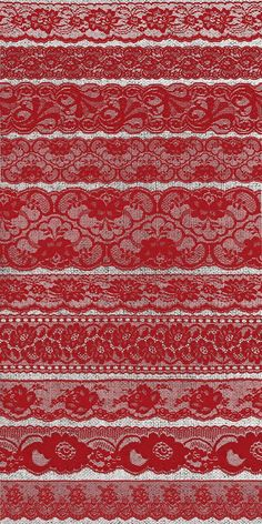 Red Lace Borders Clipart by Origins Digital Curio on @creativemarket