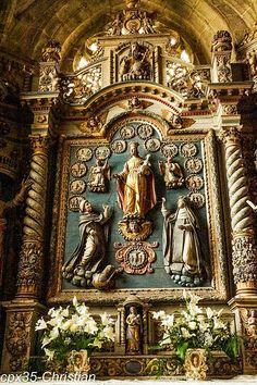 Eglise Saint Ronan LOCRONAN Bretagne