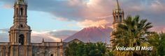 Visit one of the most emblematic cities of Peru, knows the city of Arequipa and visit their Volcan Misti. contact with Kuoda in www.kuodatours.com