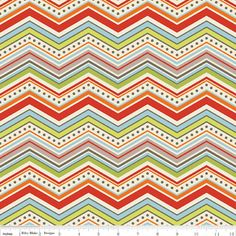 NEW Riley Blake One for the Boys Chevron Cream 1 by DragonflyRealm, $2.10