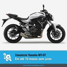 A Yamaha vai lançar no mercado nacional a nova MT-07, que promete incomodar as concorrentes. Confira na matéria: https://www.consorciodemotos.com.br/noticias/yamaha-mt-07-em-ate-70-meses-sem-juros-pelo-consorcio?idcampanha=288&utm_source=Pinterest&utm_medium=Perfil&utm_campaign=redessociais