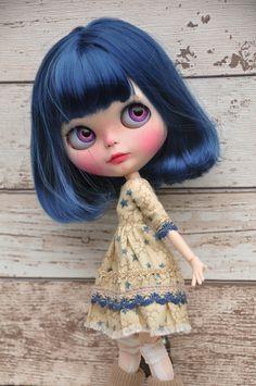OOAK Custom Blythe doll SEREN personalizzato da di BlytheAdore