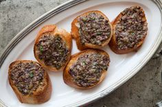 Olive Crostini Recipe on Yummly