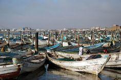 Alter Fischereihafen in Nouadhibou ◆Mauretanien – Wikipedia https://de.wikipedia.org/wiki/Mauretanien #Mauritania