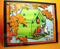 Trick Or Treat, House Mouse Monday Ch5, Paper Piecing by Cards_By_America - Cards and Paper Crafts at Splitcoaststampers