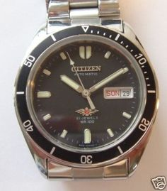 Citizen Automatic. Have it with a white face