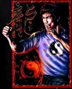 Bruce Lee Pictures, Bruce Lee Art, Batman Art, Kung Fu, Martial Arts, Artwork, Fictional Characters, Statues, Collage