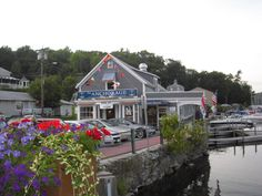 Fave lunch spot - The Anchorage, Sunapee Harbor, NH