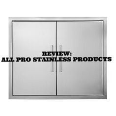 REVIEW: ALL PRO STAINLESS PRODUCTS