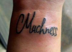 muchness tattoo - alice in wonderland