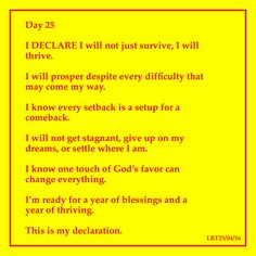 82 best lyn images on pinterest spirituality book of shadows and day 25 i declare i will not just survive i will thrive i will fandeluxe Images