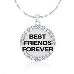 GLITTERING FRIEND PENDANT