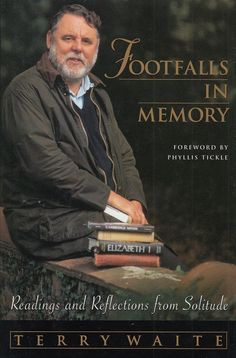 Footfalls in Memory Readings & Reflections from Solitude Terry Waite 1997 1st Ed