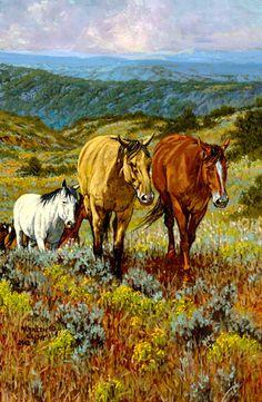 """""""Out of Santa Fe Canyon"""" ~ Kenneth Wyatt"""