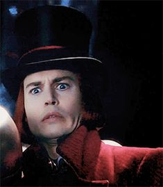 charlie and the chocolate factory, gif, and dork image