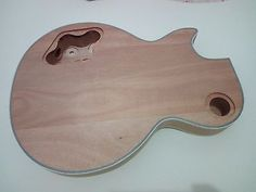 Best top grade unfinished electric guitar body , perfect handcraft