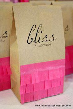Bolsa de papel craft