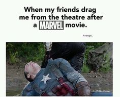 Every captain America/ avengers film ever! this is literally me when my bestie and i go to see any marvel movie Funny Marvel Memes, Dc Memes, Avengers Memes, Marvel Jokes, Marvel Dc Comics, Marvel Avengers, Superhero Memes, Gotham Comics, Movie Memes