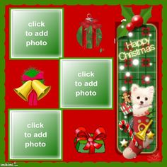 ANIMATED PUPPY DOG IN CHRISTMAS STOCKING PICTURE FRAMES Christmas Frames, Christmas Ornaments, Christmas Stockings, Dogs And Puppies, Picture Frames, Animation, Holiday Decor, Happy, Pictures