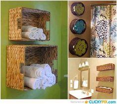 Great idea for a small bathroom!