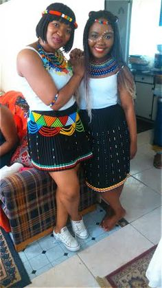 African Classic Attires - Zulu attire from South Africa Do your shopping here @ affordable prices Zulu Women, African Women, African Fashion, Zulu Traditional Attire, African Print Dresses, African Diaspora, African Attire, Beautiful Black Women, Traditional Wedding