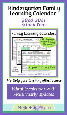 Kindergarten Homework, Kindergarten Teachers, Student Teaching, Teaching Tips, Homework Calendar, Abc Phonics, Real Teacher, Letter To Parents, Free Lesson Plans