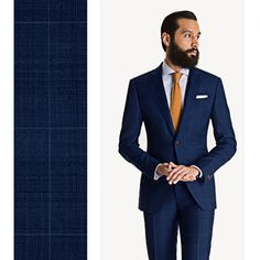Blue Windowpane Suit with Shadow Check: http://www.blacklapel.com/suits/blue-windowpane-suit-shadow-check.html?utm_campaign=3-31-2015-suits-launch&utm_medium=social&utm_source=pinterest&utm_content=3-31-2015-suits-launch-blue-windowpane-with-shadow-check&utm_term=