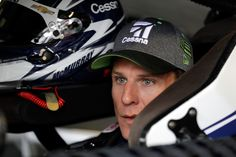 Jamie McMurray Photos - Jamie McMurray, driver of the #1 Cessna Chevrolet, sits in his car during practice for the Monster Energy NASCAR Cup Series Hollywood Casino 400 at Kansas Speedway on October 21, 2017 in Kansas City, Kansas. - Kansas Speedway - Day 2