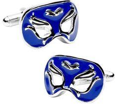 Mardi Gras Venetian Mask Cufflinks http://astore.amazon.com/ahoy-20/detail/B00H0G4NUK