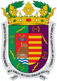Escudo de la provincia de Málaga - España La provincia de Málaga es una de las ocho provincias españolas que componen la comunidad autónoma de Andalucía. Está situada al sur de la Península Ibérica, en la costa mediterránea. Es la provincia más pequeña de Andalucía.