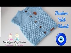 Bonbon Candy Vest Pattern is a great knitting pattern for boys and girls. It is quite easy to make the model is waiting for the appreciation of our valuable Baby Knitting Patterns, Knitting Stitches, Candy Models, Easy Model, Moda Emo, Baby Vest, Vest Pattern, Tutu, Knitwear