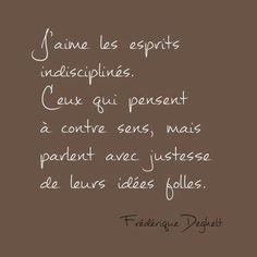 Frédérique Deghelt …