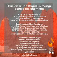 oración a San Miguel Arcángproel