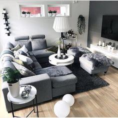 Comfy-Cozy Living Room Essentials for Fall and Beyond Decor Home Living Room, Cozy Living Rooms, Living Room Grey, Living Room Modern, Home And Living, Living Room Designs, Bedroom Decor, Home Decor, Small Living