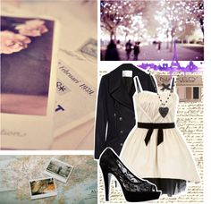 """""""mon amant, ma vie"""" by starsmaycollide ❤ liked on Polyvore"""
