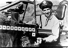 Gen. Robert Scott, War-Hero Author photographed in his P-40 in 1943, then a colonel, the year he dictated a memoir that became a best-selling account of aerial combat in World War II