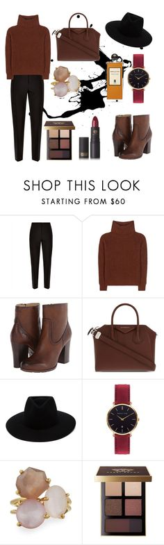 """cozy sweater"" by siesta451 ❤ liked on Polyvore featuring Jaeger, Loro Piana, Frye, Givenchy, rag & bone, Abbott Lyon, Ippolita, Bobbi Brown Cosmetics and Lipstick Queen"