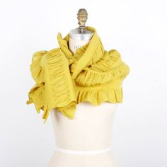 Shibori Scarf Gold now featured on Fab.