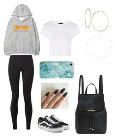 """""""Untitled #987"""" by lalimalenagonzalezoficial on Polyvore featuring interior, interiors, interior design, home, home decor, interior decorating, The Row, Vans, GUESS and Topshop"""