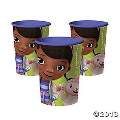 Doc McStuffins 16 OZ Party Cup