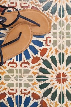 What could be more inviting than a tapestry of color and pattern at your front door or floor? This tile from the Patterson Collection can be used indoor or outdoor, vertically or horizontally.