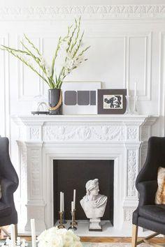 moldings #fireplace