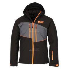 Picture, Object ski-jas, heren, zwart (Ski kleding heren)