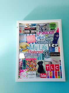 Just finished this cute DIY from a video made by Alisha Marie ! - Easy Diy Home Decor Diy Room Decor For Teens, Cute Room Decor, Diy Home Decor, Diy For Girls, Diy For Teens, Crafts For Teens, Teen Diy, Alisha Marie, Cute Crafts