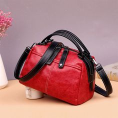 51bd813f6c22 Hot-sale designer Genuine Leather Boston Bag Bucket Bag Crossbody Bag For Women  Online - NewChic