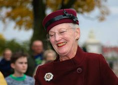 Drottning Margrethe av Danmark invigde nyrenoverad kyrka