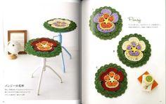 Cute Crochet Stool Cushions Japanese Craft Pattern Book SP2 | eBay