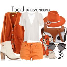 Disney Bound: Todd from Disney's Fox and the Hound